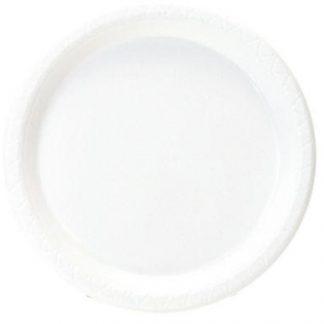 Assiettes plastique