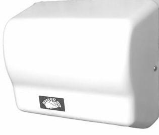 Sèche-mains automatique blanc