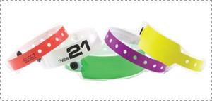 Bracelet plastique Superband  boite de 500