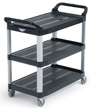 Chariot utilitaire 3 tablettes