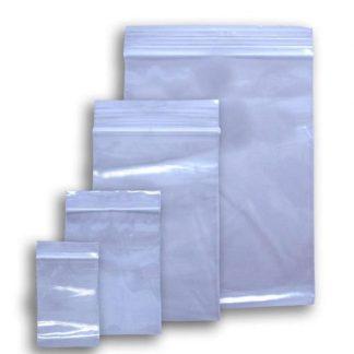 Sacs refermables avec fermeture 100/paquet