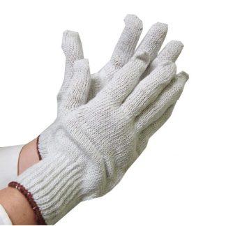 Gants en polyester et en coton 1 douzaine
