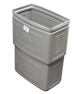 Panier suspendu pour ordures