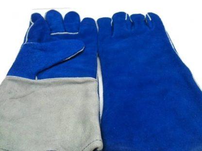 Gants pour soudeur à 5 doigts en cuir