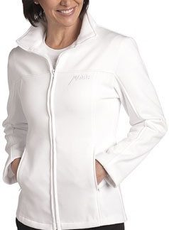 Veste en coton ouaté blanche Mobb