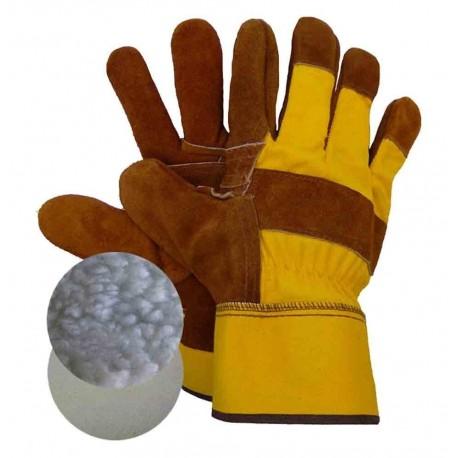 Gants réutilisable cuir
