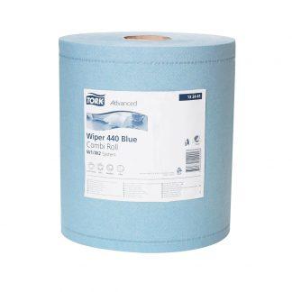 Chiffon Tork bleu 2 x 375 feuilles
