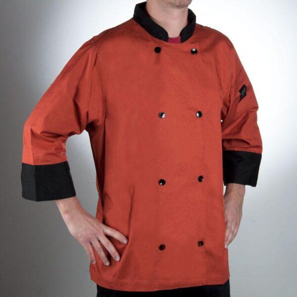 Veste de chef revival orange