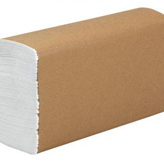 Papier essuie mains blanc plis multiples 4000/caisse