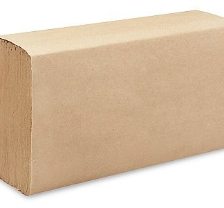 Papier mains brun plis multiples 4000/cse