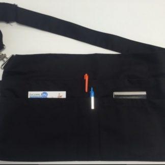 Tablier de service noir 6 poches