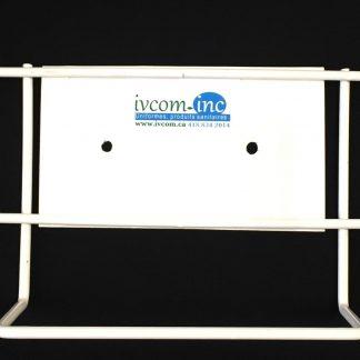 Distributeur universel en métal blanc pour gants