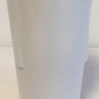 Assiette a diner 9 pouces melamine blanche (vendu en caisse de 24)