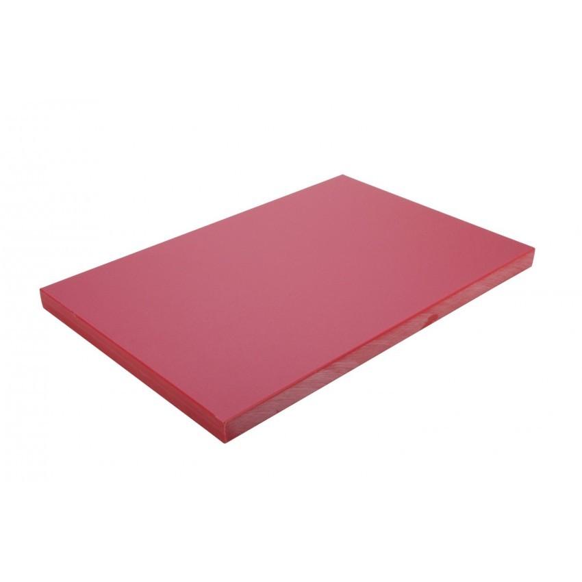 """Planche à découper rouge 12""""x18""""x½"""