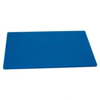 """Planche à découper bleue 12""""18""""x½"""""""