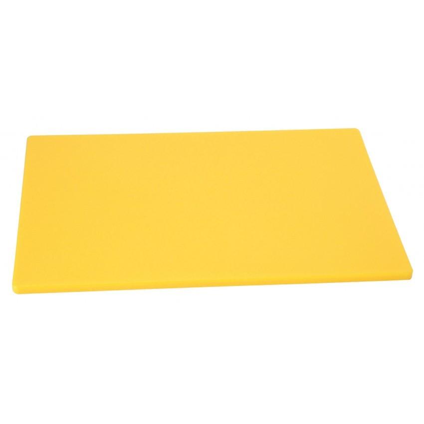 """Planche à découper jaune 15""""x20"""""""