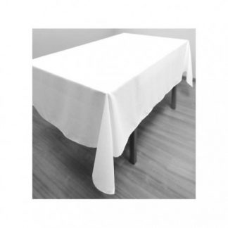 Nappe blanche 72 x 144