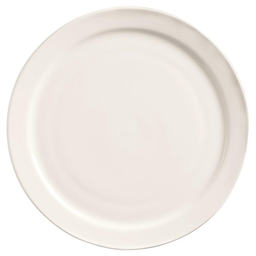 """Assiette à diner rebord étroit 9½"""" (2dz/cs)"""