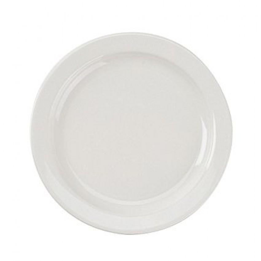 """Assiette à diner rebord étroit 10-3/8""""(2dz/cs)"""