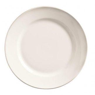 """Assiette rebord large 12"""" (1dz/cs)"""