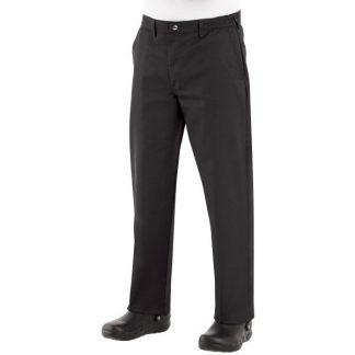 Pantalon noir de cuisinier