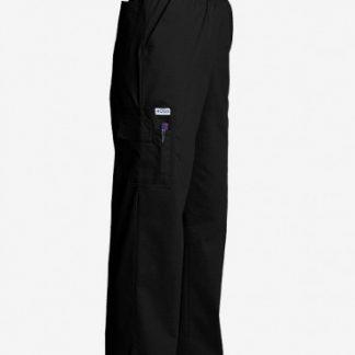 Pantalon noir style cargo