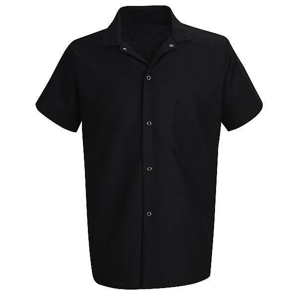Chemise  noir manche coute