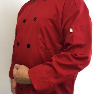 Veste de chef rouge