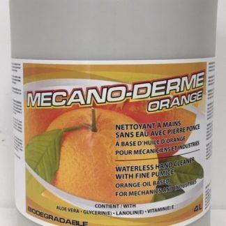 Savon à mains abrasif à l'orange 4 litres