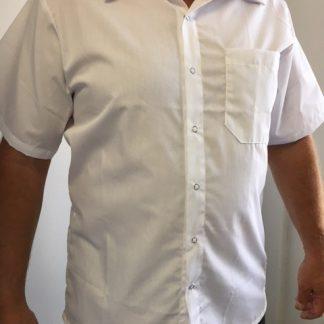 Chemise blanche pour cuisinier