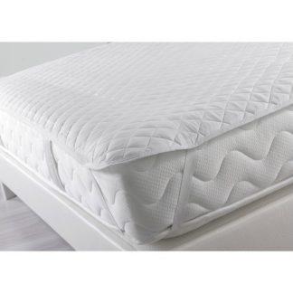 Couvre matelas pour lit simple à coins élastiques