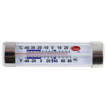 Thermomètre horizontal réfrigérateur tube Cooper-Atkins