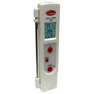 Thermomètre infrarouge et sonde Cooper-Atkins