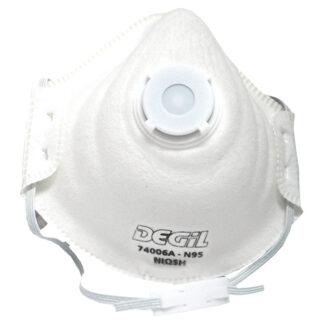 Masque de protection jetable avec valve Odyssey N95