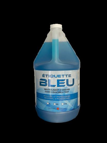 Etiquette bleu