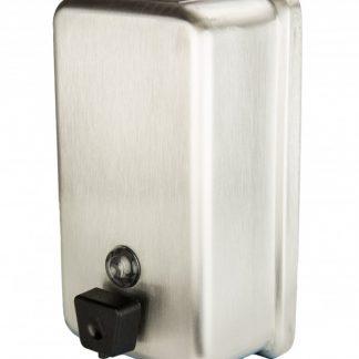 Distributeur pour savon en gel en inox 1.1 litre