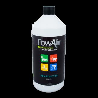 Désodorisant enzymatique PowAir pénétrateur 922 ml