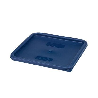 Couvercle carré bleu pour contenant 12, 18, 22L Cambro