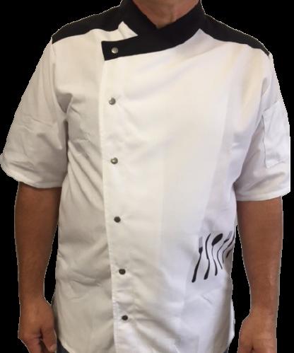 Veston Tuscany blanc noir