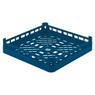 Casier lave vaisselle ouvert grand trou 1/1 bleu royal Vollrath