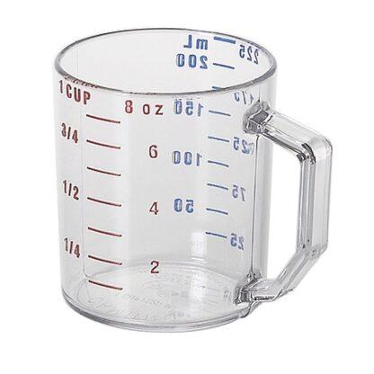 Tasse à mesurer polycarbonate clair 225 millilitres Cambro