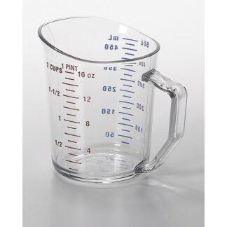 Tasse à mesurer polycarbonate clair 500 millilitres Cambro