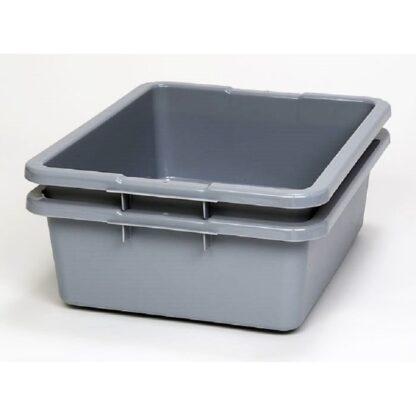 """Bac à vaisselle gris 21 ½"""" x 17"""" x 7"""" 27 litres Rubbermaid"""