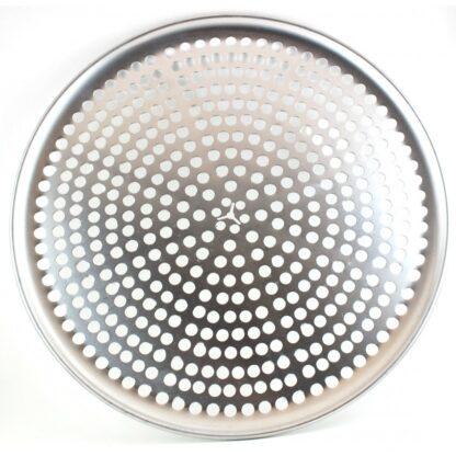 Assiette à pizza en aluminium dur perforée Norjac