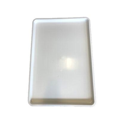 """Plateau en plastique blanc 18"""" x 26"""" Kasco"""