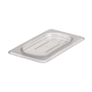 Couvercle plat sans tou polycarbonate clair 1/9 Cambro